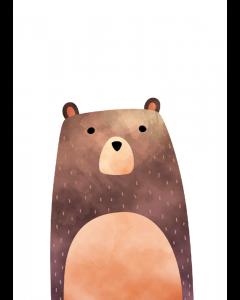 Plakat Skovens Bjørn