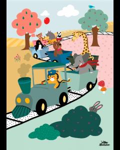 Plakat Adventure Train