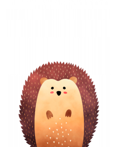 Plakat Skovens Pindsvin