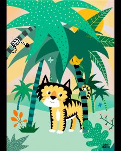 Plakat Tiger I Junglen