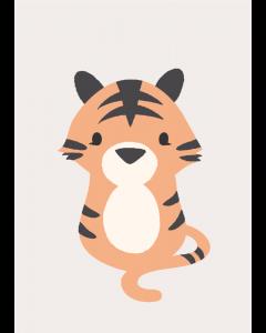 Plakat Sweet Tiger