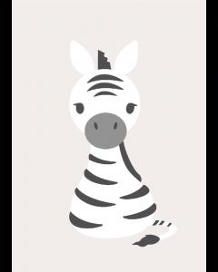 Plakat Sweet Zebra