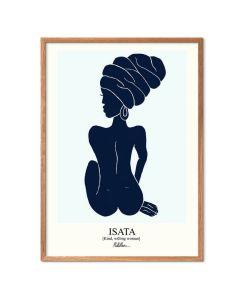 Morais Artworks - Isata Blå
