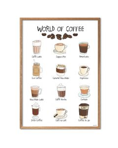 Mouse & Pen - World of Coffee