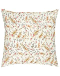 Pude 50x50cm Blomster & Paisley