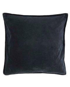Pude 50x50cm Velour - Midnatsblå