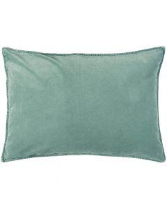 Pude 70x50cm Velour - Green Mist