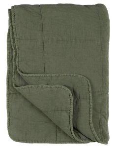 Quilt tæppe - Dusty Chalk Green