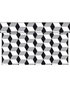 Sovie home bordløber - Chicago sølv-sort 4,80 m
