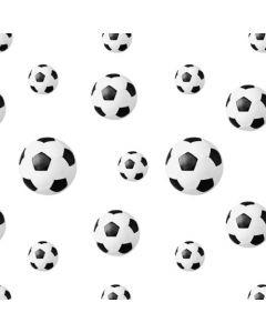 Stikdug  fodbolde - 80 x 80cm