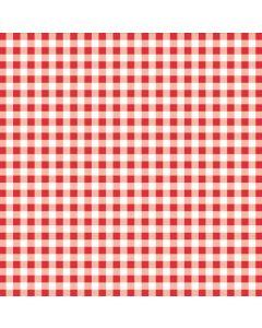 Stikdug  tern - rød/hvid - 80 x 80cm