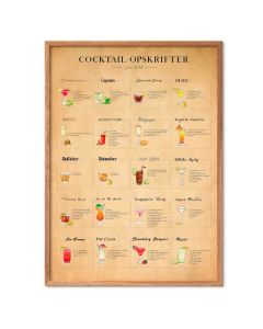 Simon Holst - Cocktails, papir