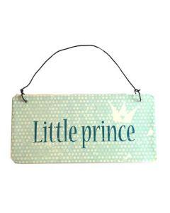 "Skilt ""Little prince"""