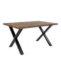 Toulon Spisebord Smoked - 140x95cm