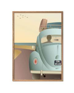 ViSSEVASSE Plakat - VW Beetle