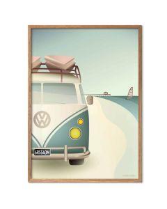 ViSSEVASSE Plakat - VW Camper